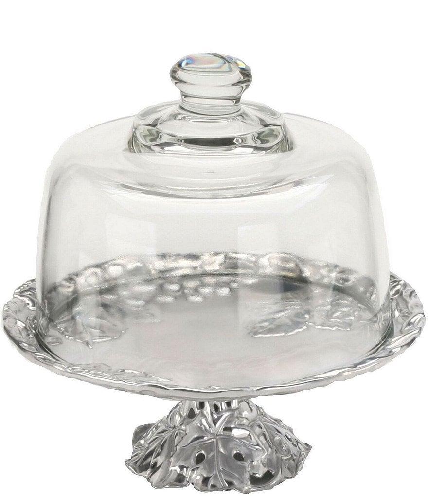 Arthur Court Grape Mini Cake Plate with Glass Dome  sc 1 st  Dillard\u0027s & Arthur Court Grape Mini Cake Plate with Glass Dome | Dillards