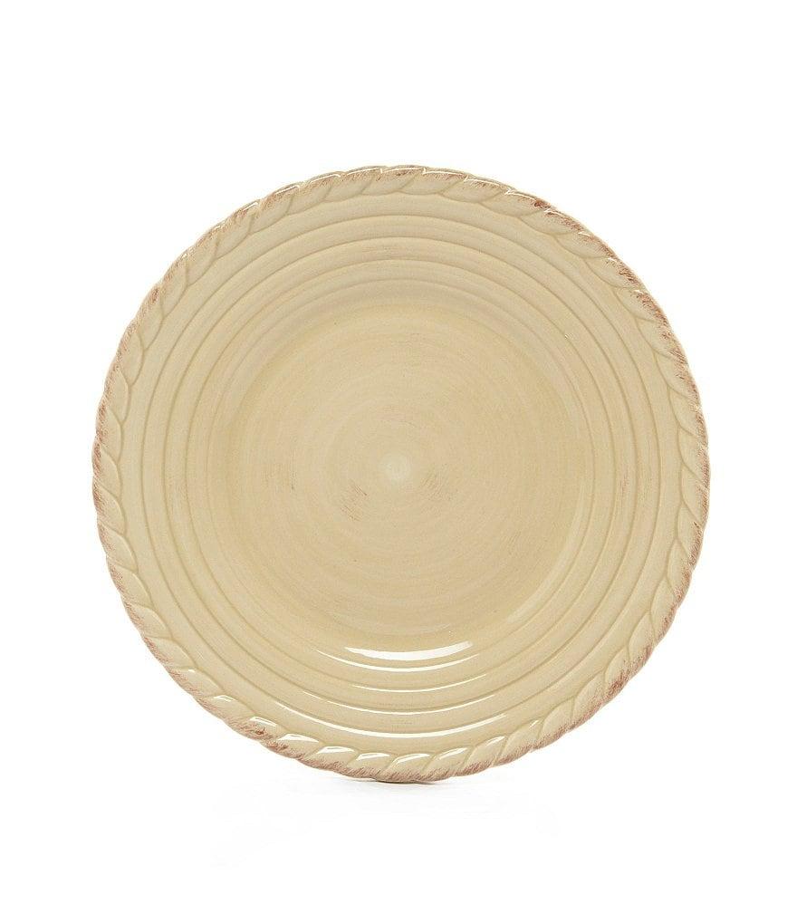 Artimino Tuscan Countryside Rope-Edged Stoneware Salad Plate | Dillards