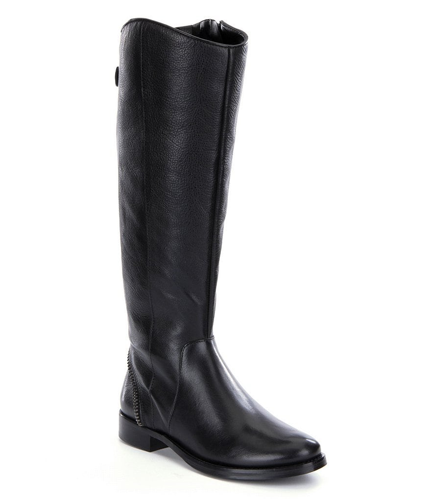Arturo Chiang Falicity Wide-Calf Riding Boots