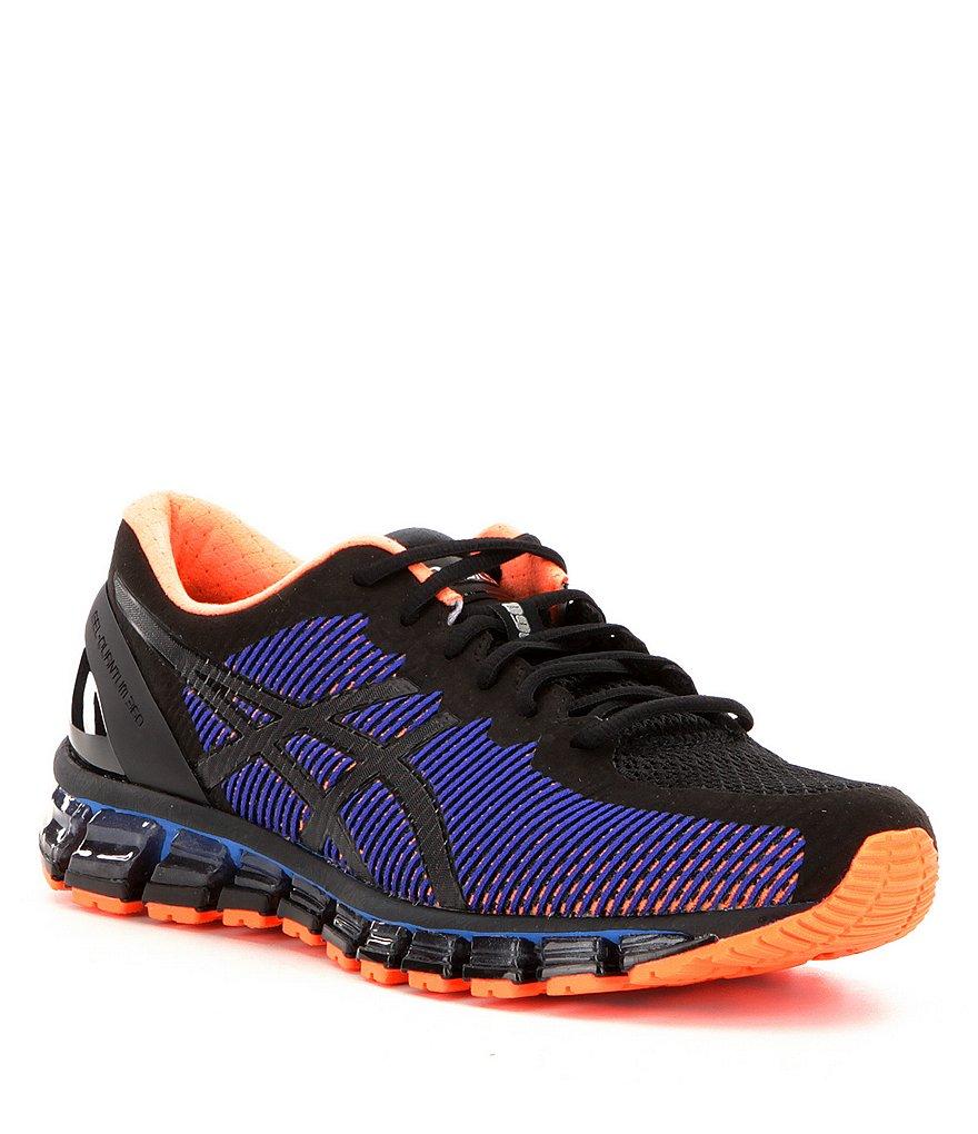 Black Orange Shoes Mens