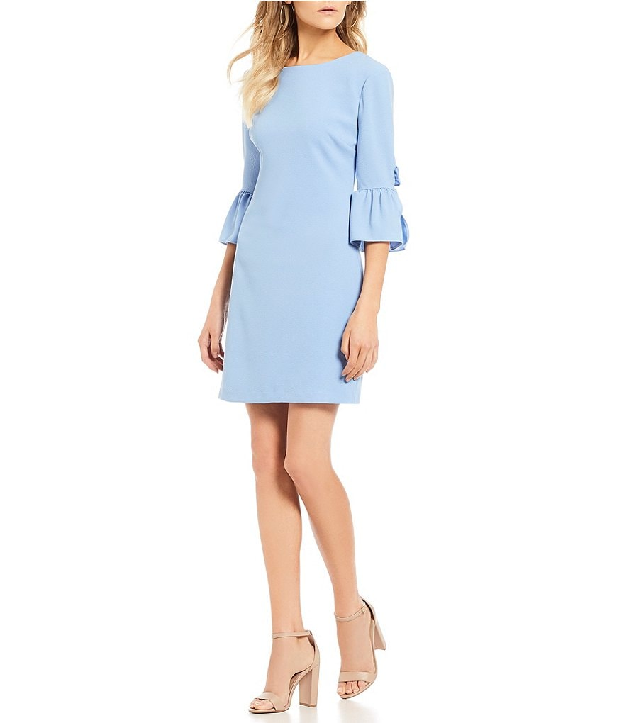 B. Darlin Bell Cuff Shift Dress