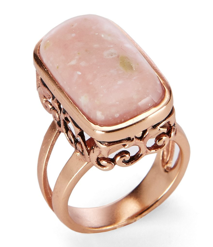 Barse Copper & Opal Ring