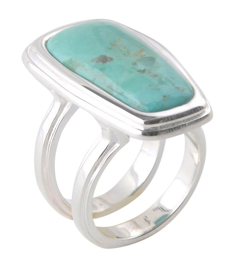 Barse Genuine Arizona Turquoise Ring