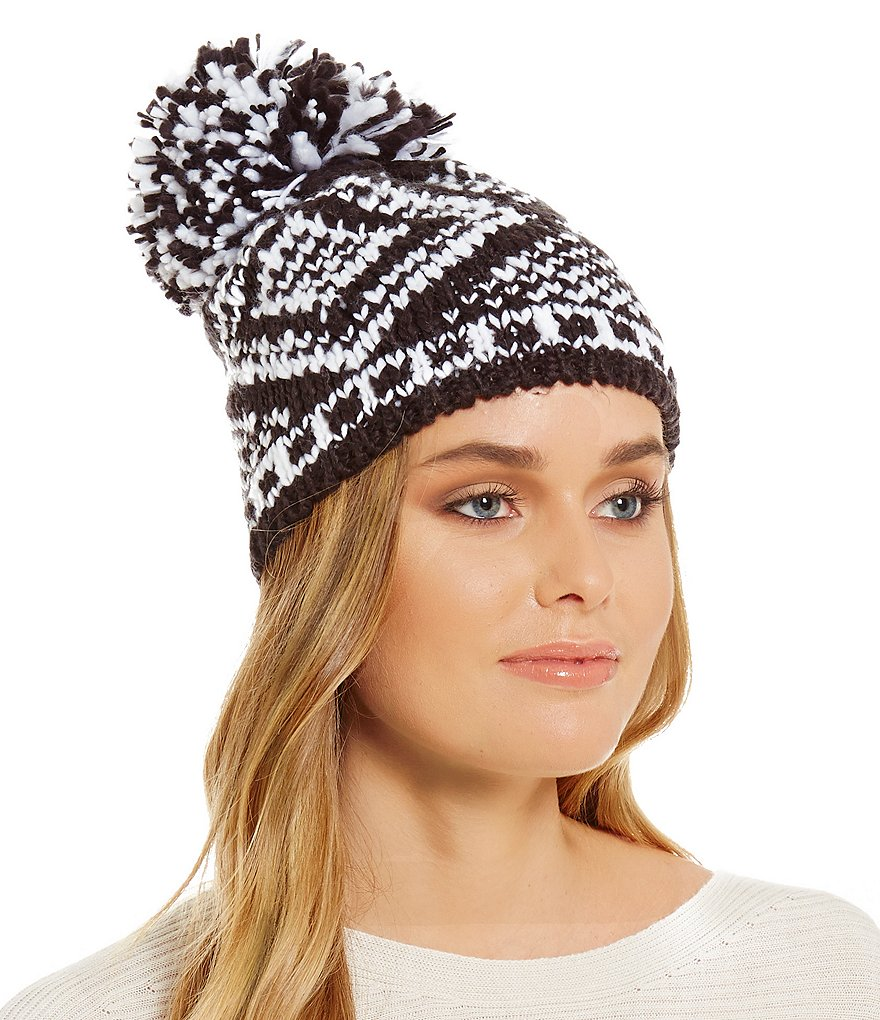 BCBGeneration Mixed Fair Isle Beanie