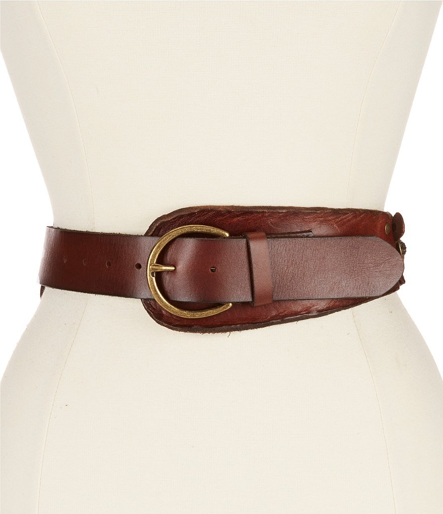 Bed Stu Eastwood Floral Medallion Belt