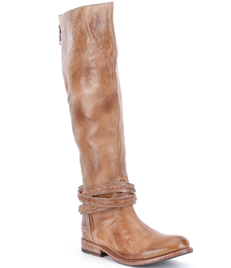 Bed Stu Eva Buckle Strap Riding Boots