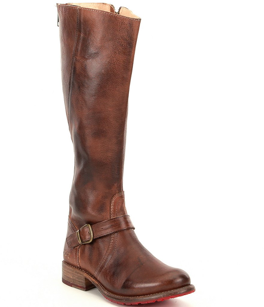 Bed Stu Glaye Buckle Strap Equestrian Riding Boots