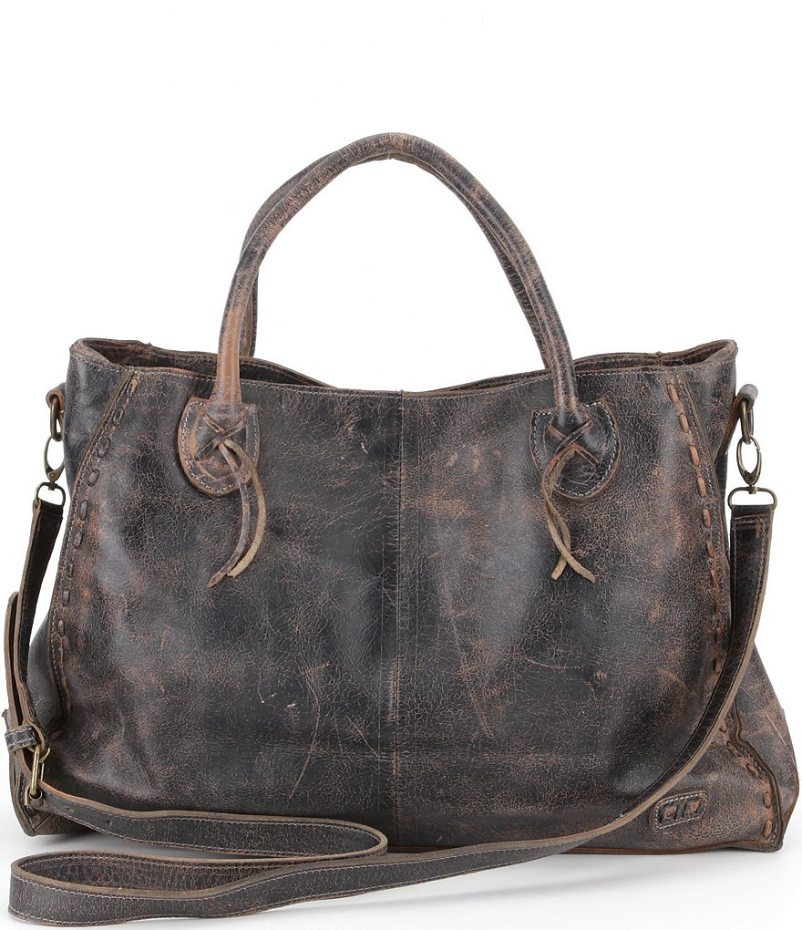 0b925ae2144d Bed Stu Rockaway Stitch-Detail Satchel