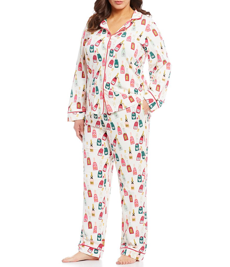 BedHead Plus Celebration Classic Knit Pajamas