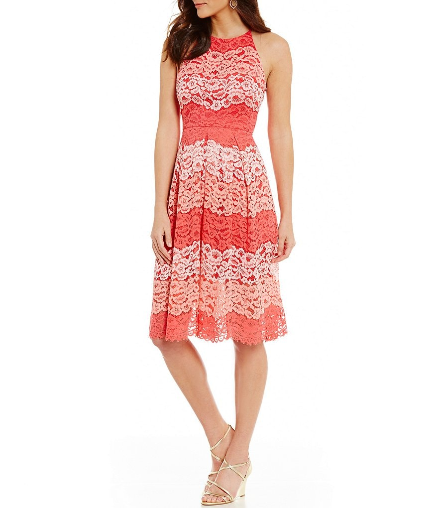 Belle Badgley Mischka Peggy Lace Dress
