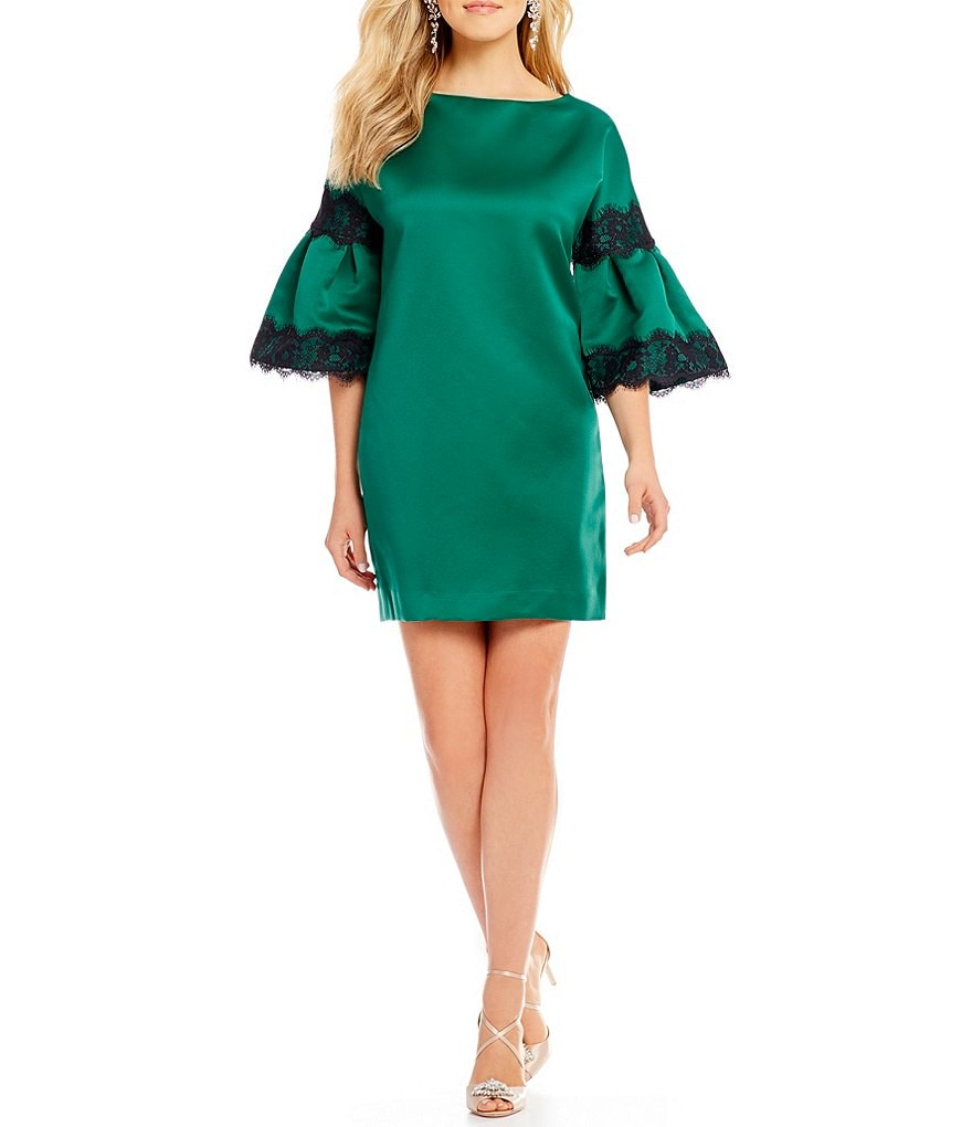 Belle Badgley Mischka Satin Sami Dress