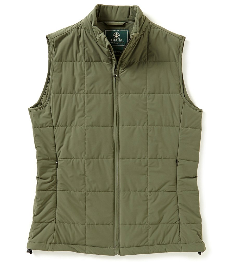 Beretta Stretch BIS Zip-Front Quilted Vest