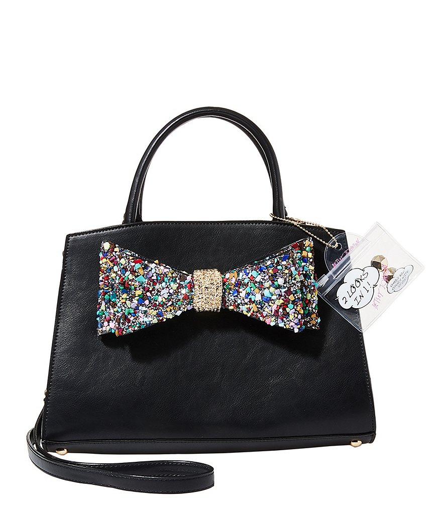 Betsey Johnson Oh Bow You Don´t Rock Candy Convertible Satchel