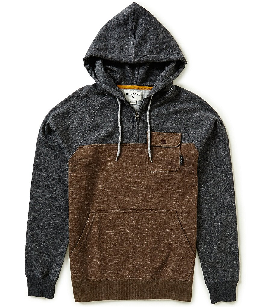 Billabong Balance Color Block Pullover Hoodie