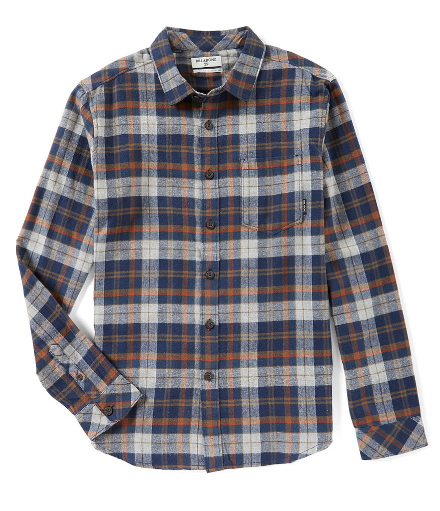 Billabong Coastline Flannel Long-Sleeve Shirt