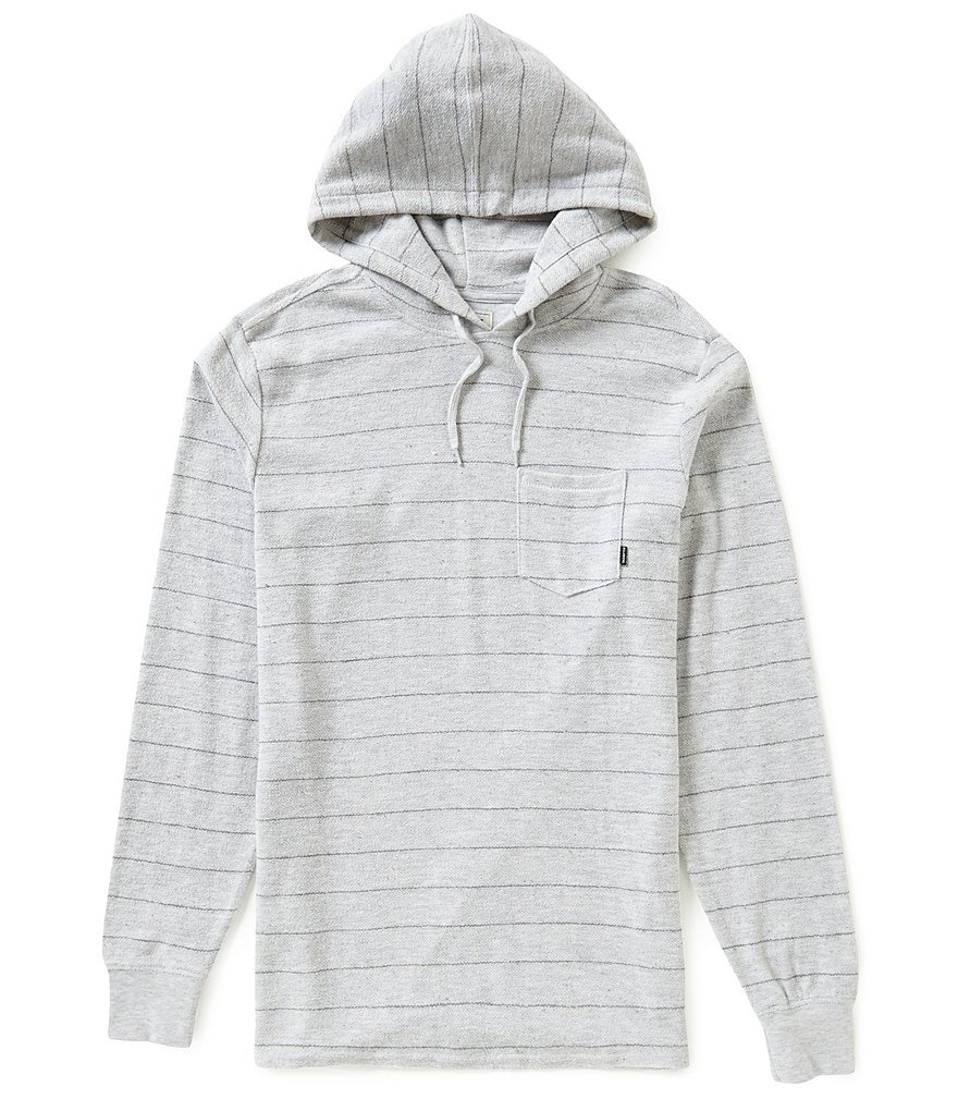 Billabong Flecker Yarn-Dyed-Horizontal-Striped French Terry Hoodie