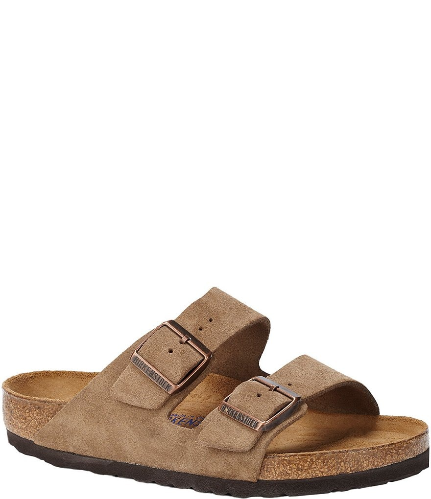 Birkenstock Women´s Arizona Suede Dual Adjustable Buckle Strap Sandals