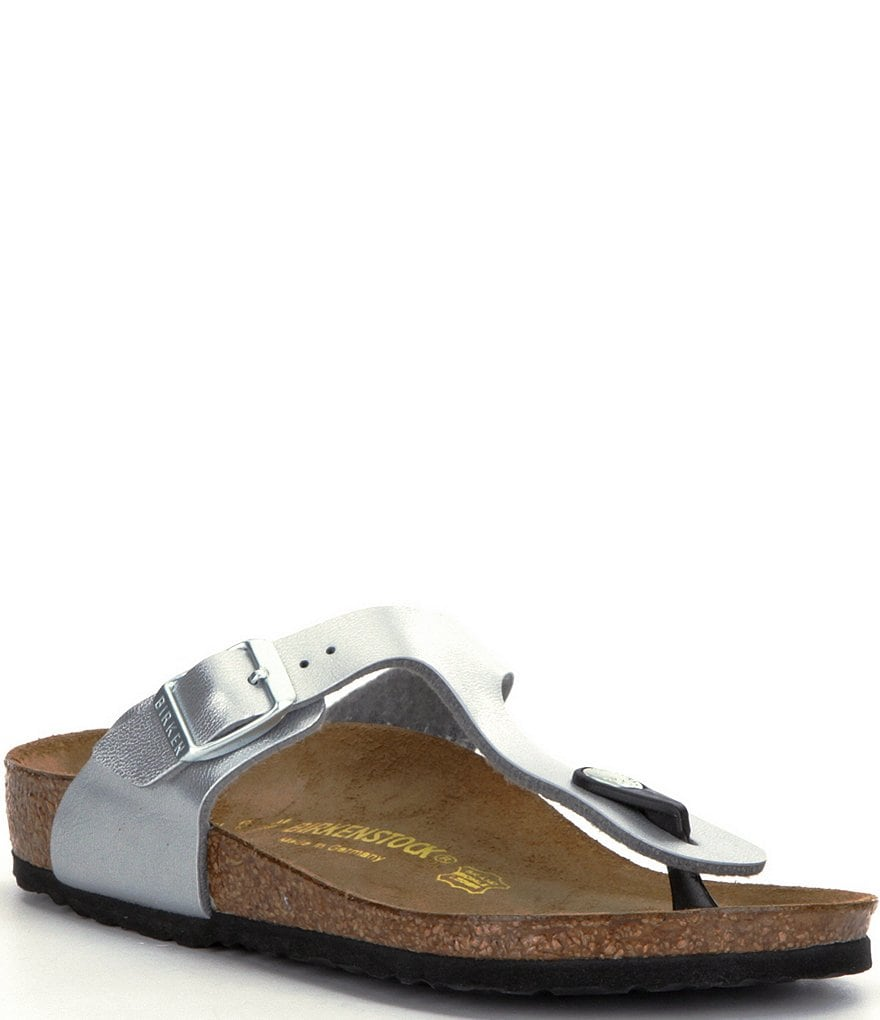 Birkenstock Girls' Gizeh Slide On Thong Style Buckle Sandals
