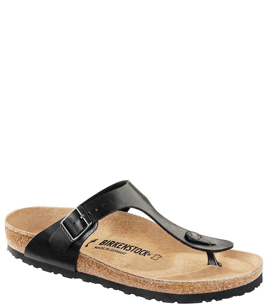 Gizeh Adjustable Strap Thong Sandals ABmO35jx