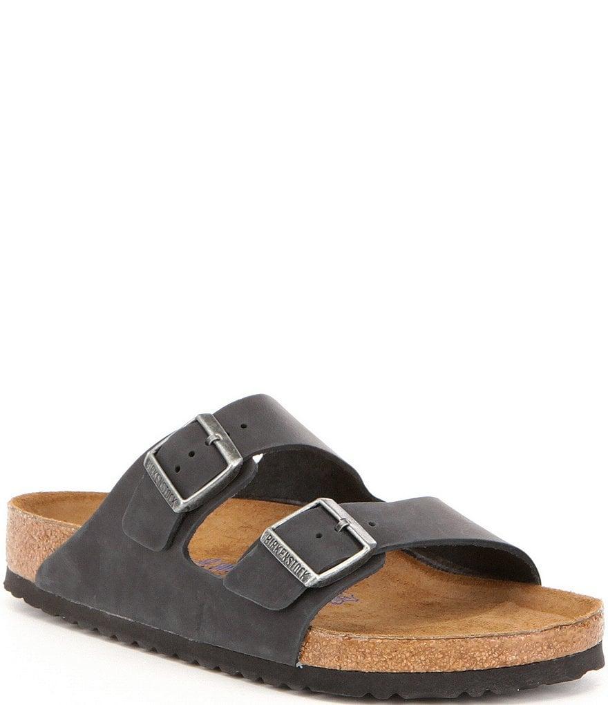 7c6e1fa39aa Birkenstock Men's Soft Footbed Sandals