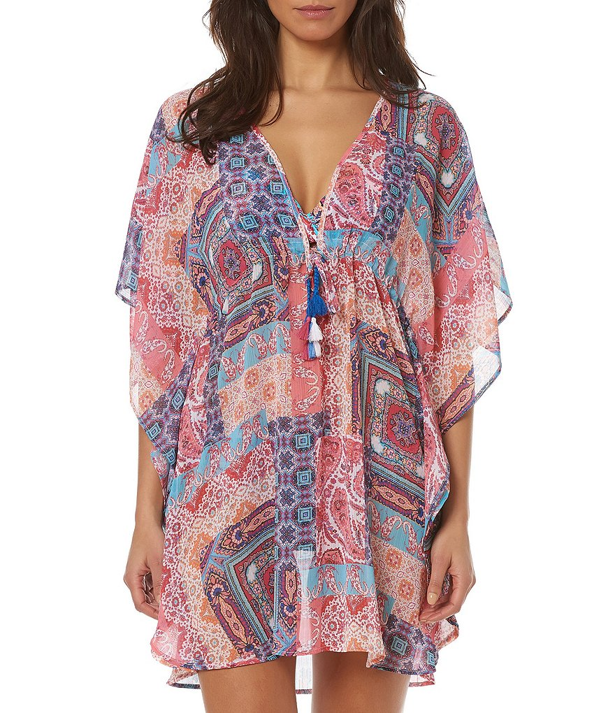 Bleu Rod Beattie Free Spirit Caftan Cover-Up