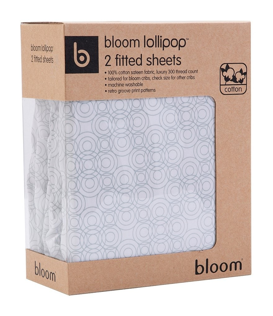 Bloom Mini Crib Sheets