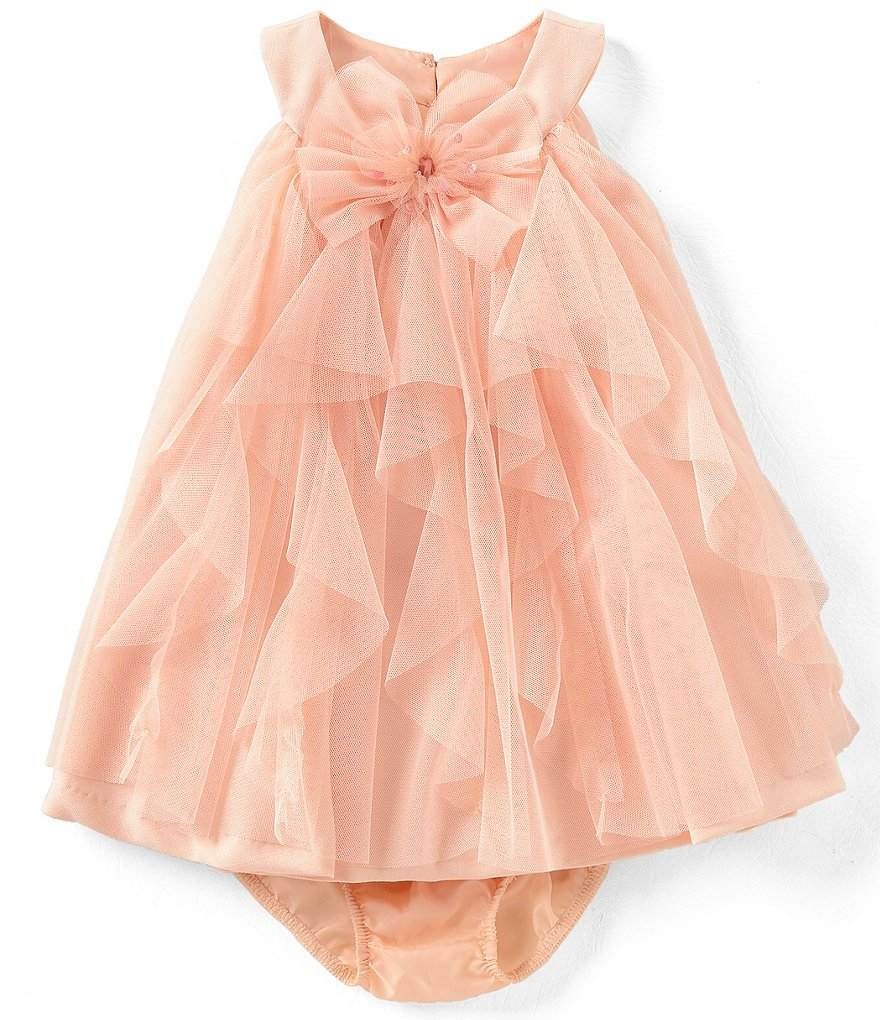 Bonnie Baby Baby Girls 12-24 Months Ruffled Tulle Dress