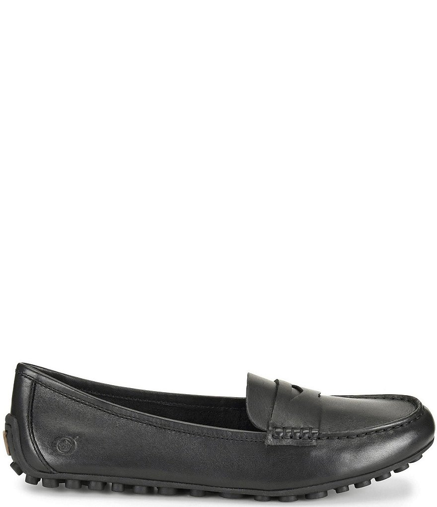 Gentlemen/Ladies Born Malena Leather Dress Penny Loafers    Wear-resist 7008cc