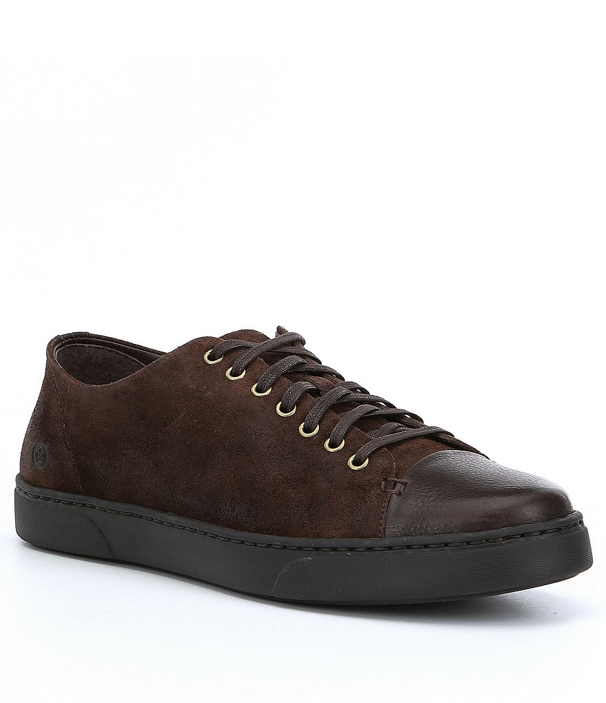 Born Men's Bayne Leather and Suede Sneakers