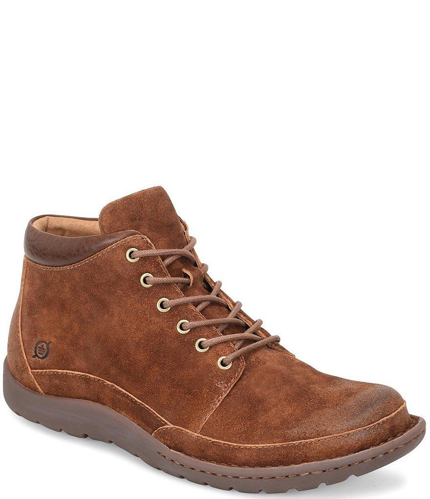 Born Men's Nigel Distressed Suede Boots