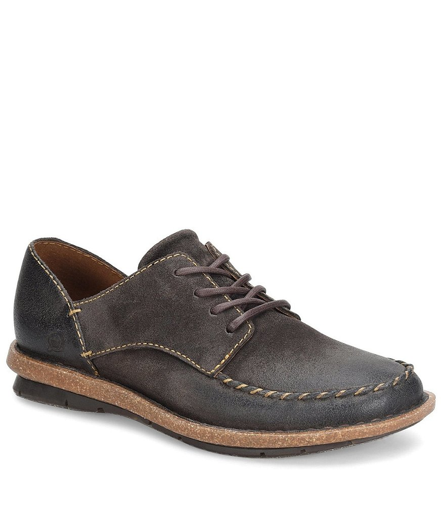 Born Thyra Distressed Suede Oxfords