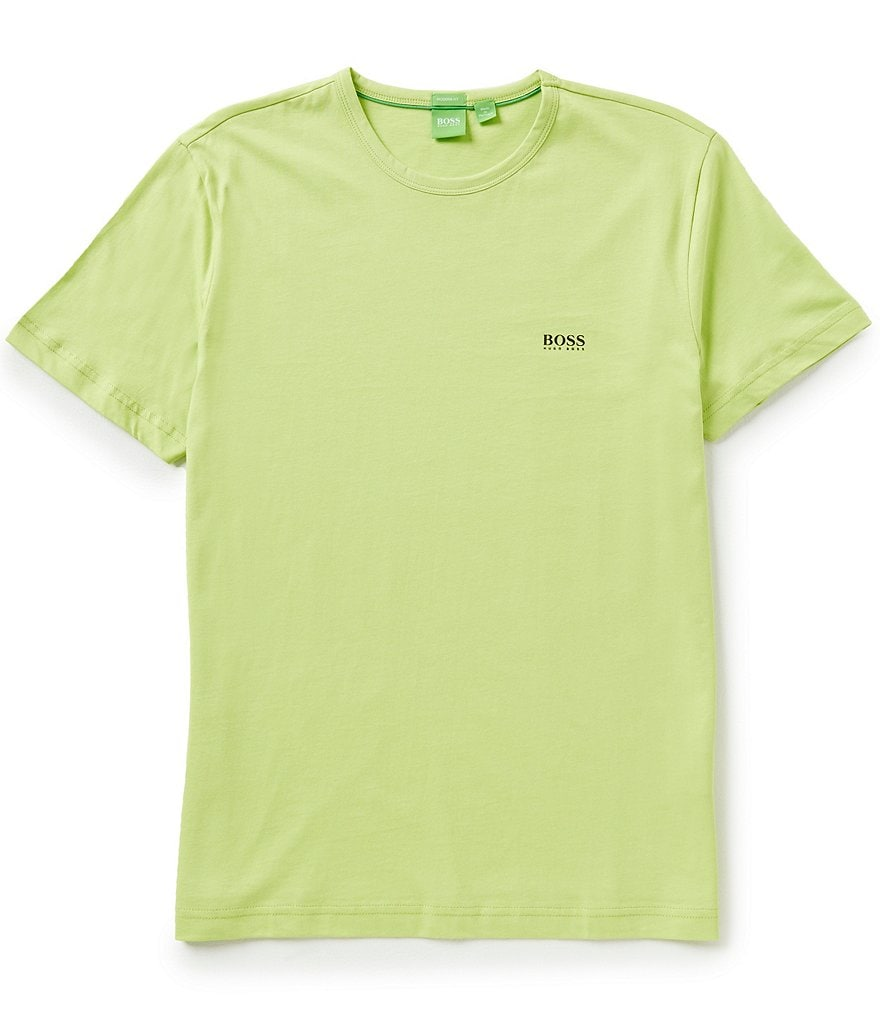 BOSS Green Logo Crew Modern Fit Short-Sleeve Tee