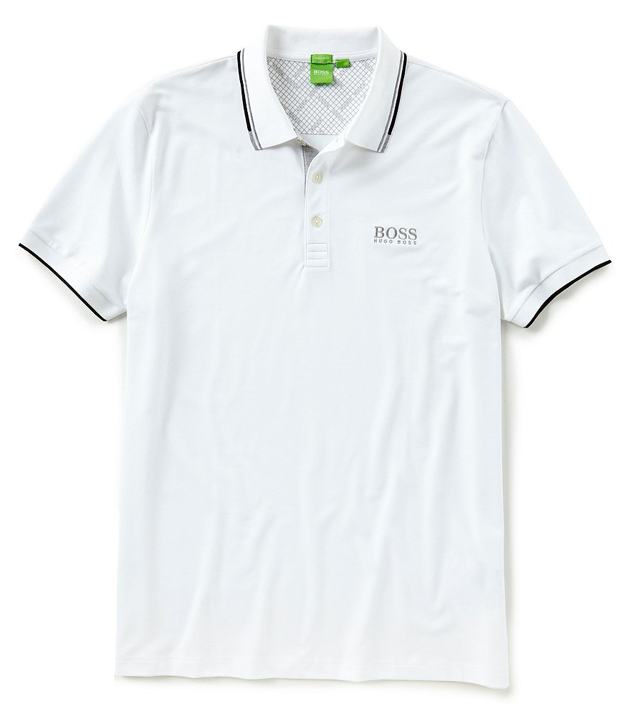 BOSS Paddy Pro Stretch Short-Sleeve Polo Shirt