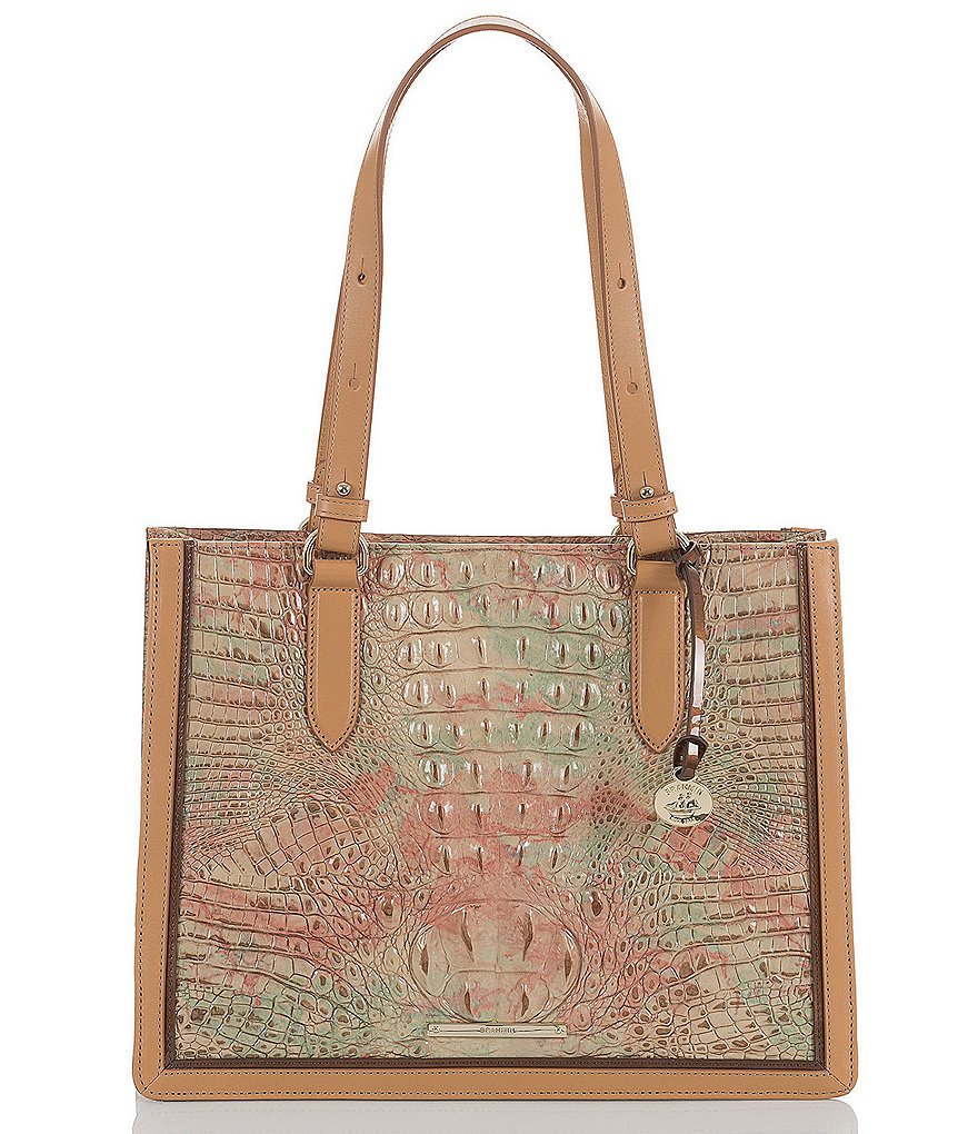 Brahmin Amal Collection Medium Camille Colorblock Tote