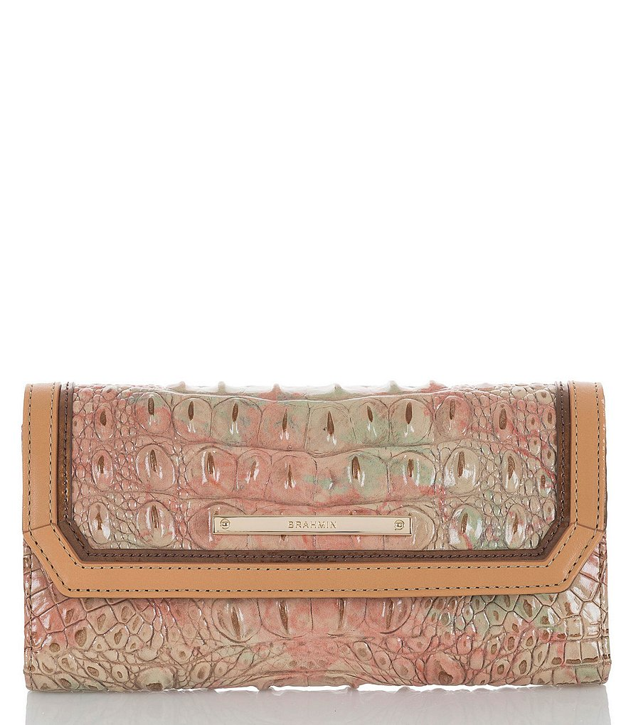 Brahmin Amal Collection Soft Checkbook Wallet