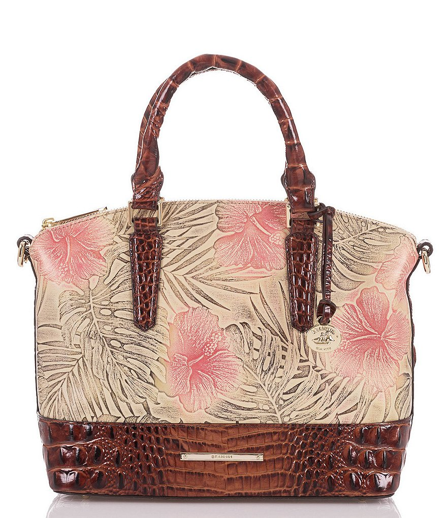 Brahmin Amina Collection Duxbury Colorblock Satchel
