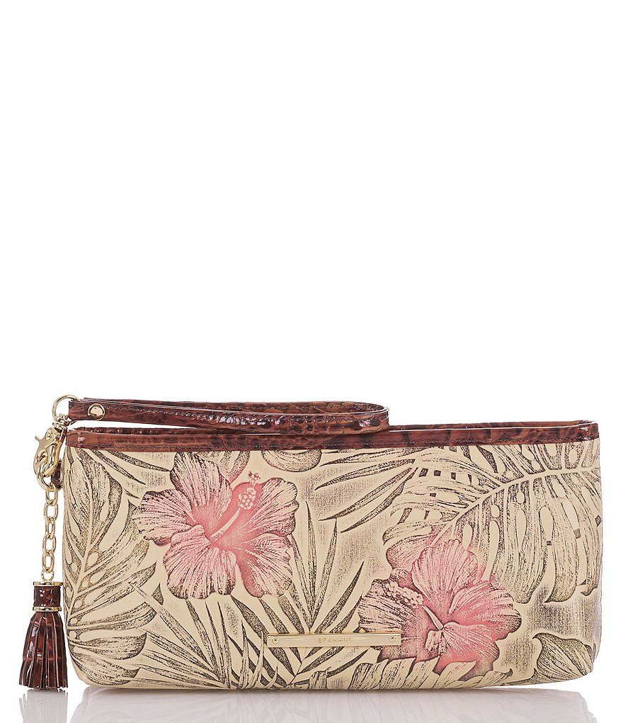 Brahmin Amina Collection Kayla Colorblock Clutch