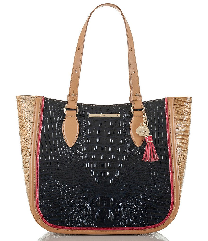 Brahmin Avondale Collection Medium Lena Tote