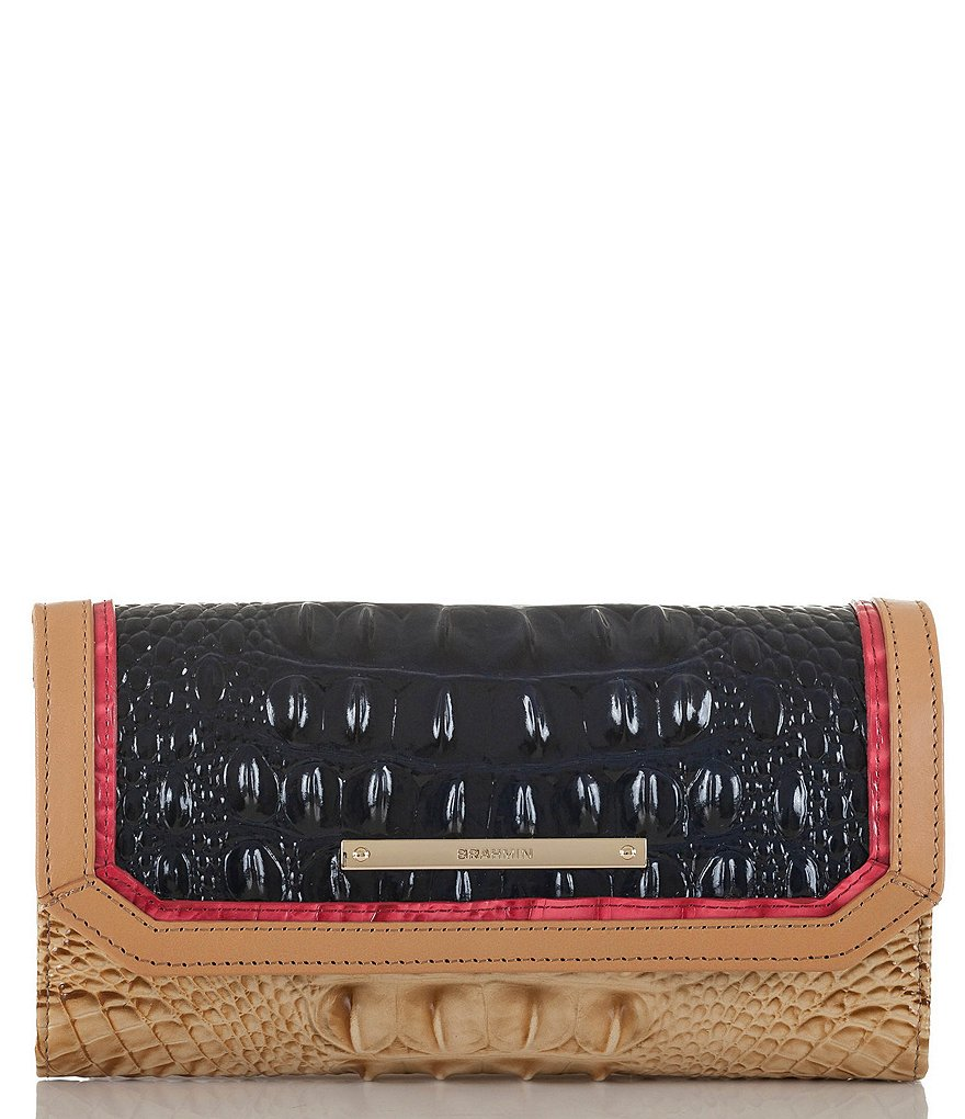 Brahmin Avondale Collection Soft Checkbook Wallet