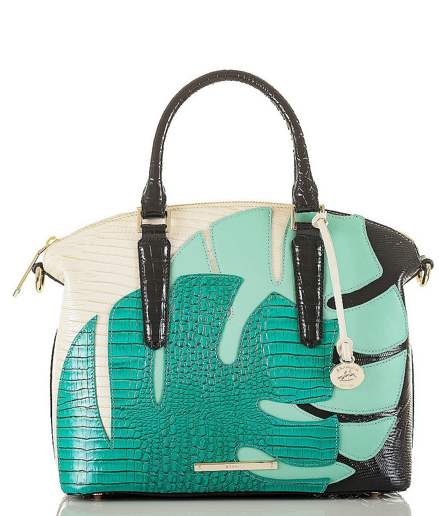 Brahmin Belem Collection Duxbury Colorblock Satchel