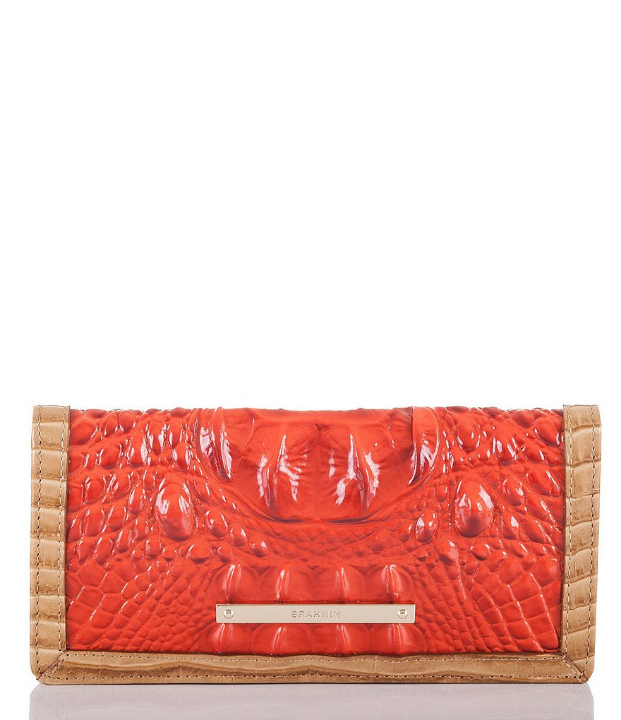 Brahmin Cotinga Collection Ady Colorblock Wallet