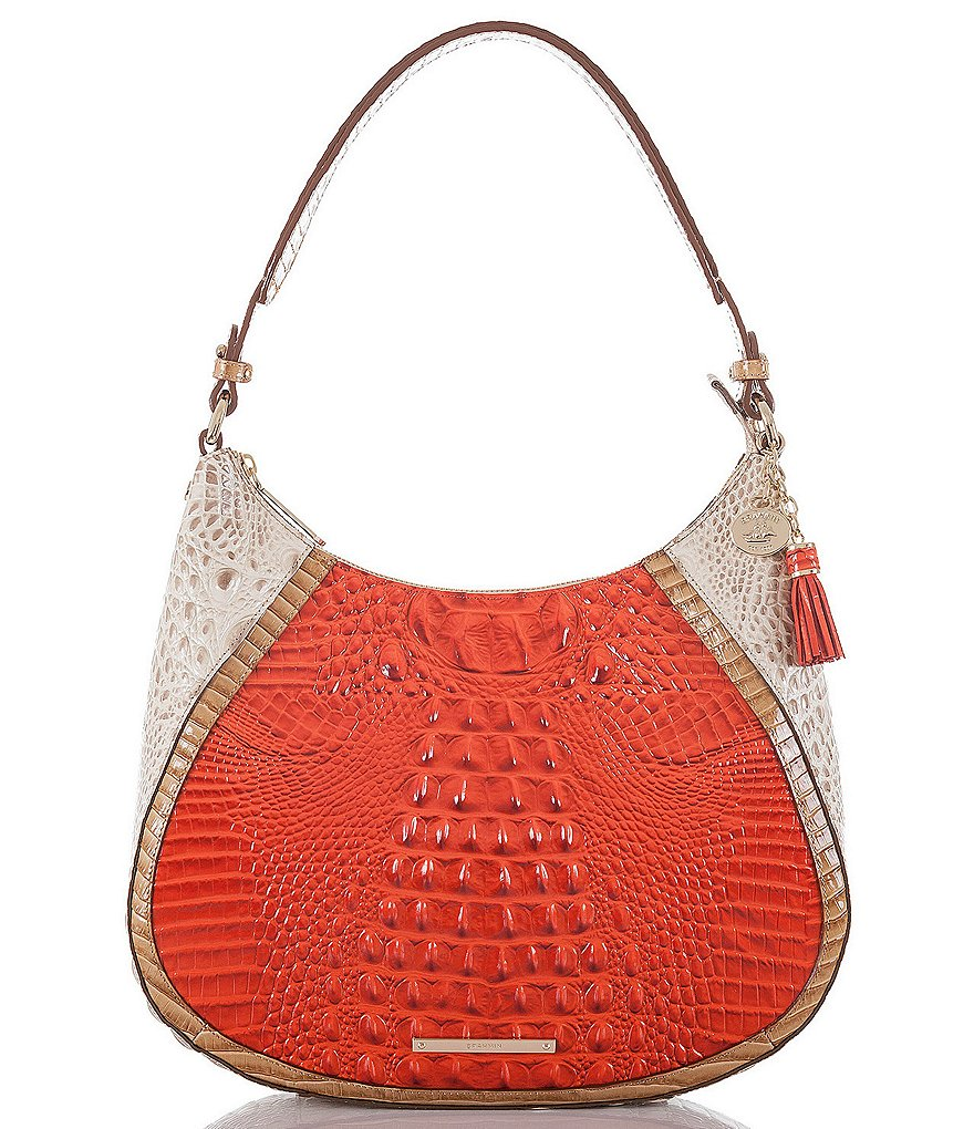 Brahmin Cotinga Collection Amira Hobo Colorblock Bag