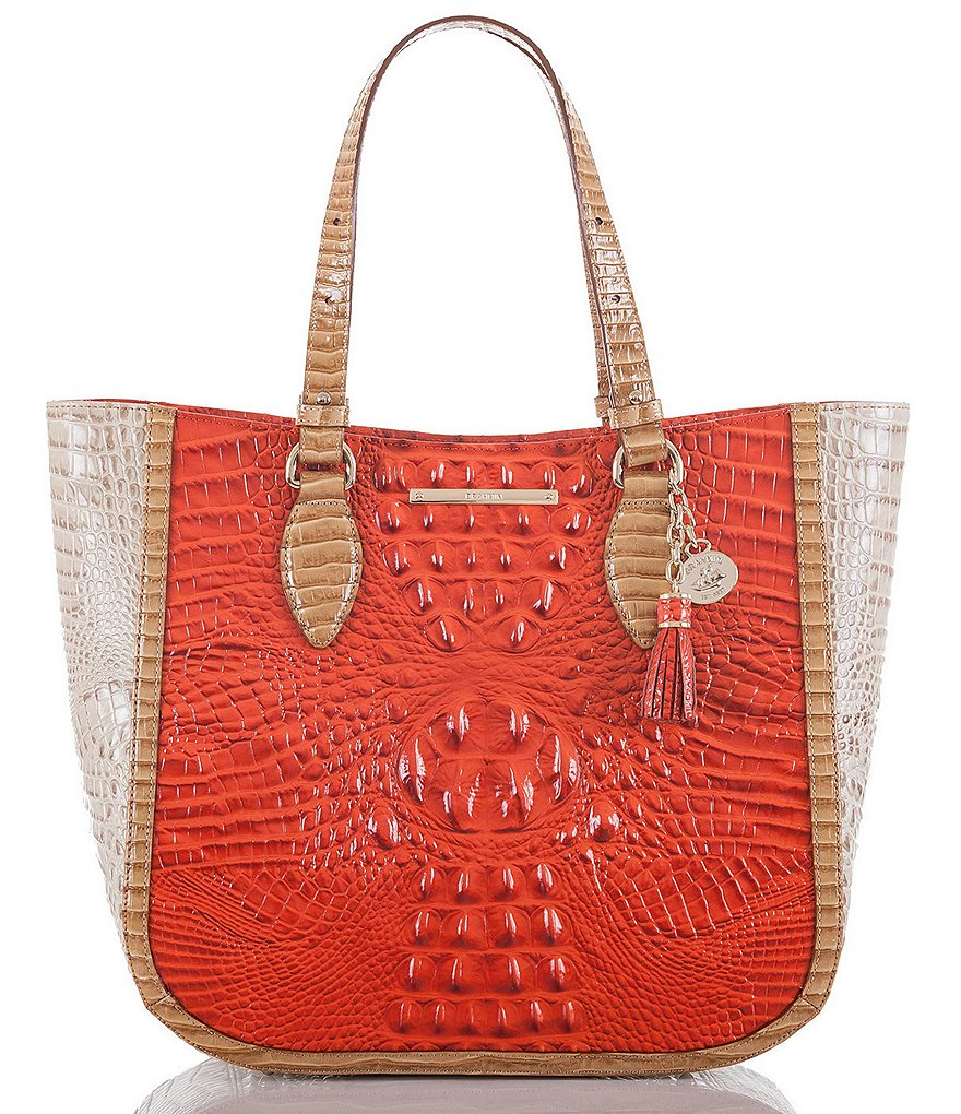 Brahmin Cotinga Collection Medium Lena Tote