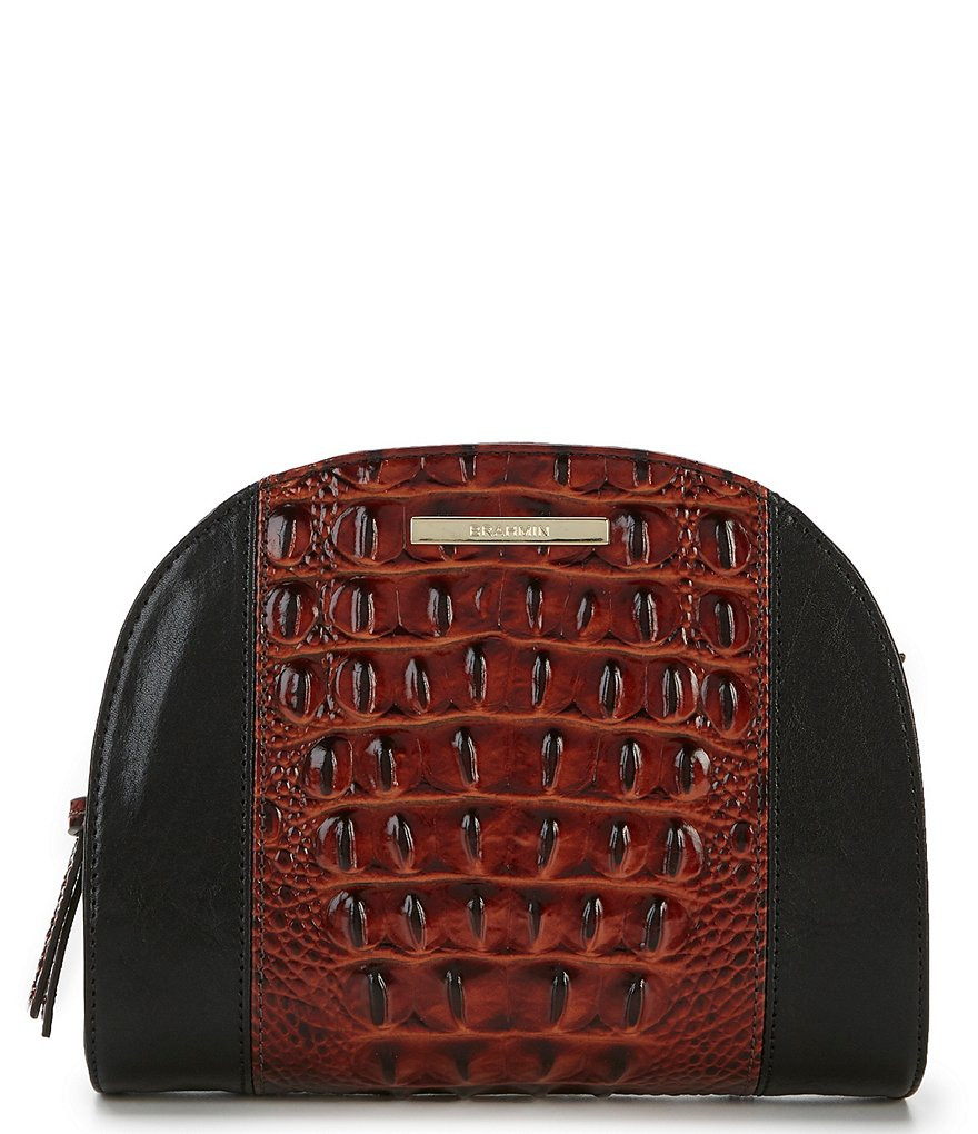 Brahmin Fitzgerald Collection Colorblock Leah Crossbody
