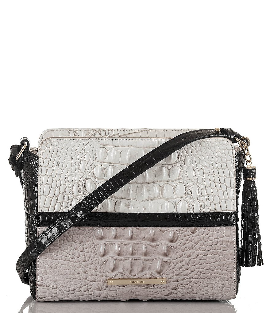 Brahmin Jasmine Collection Carrie Cross-Body Bag