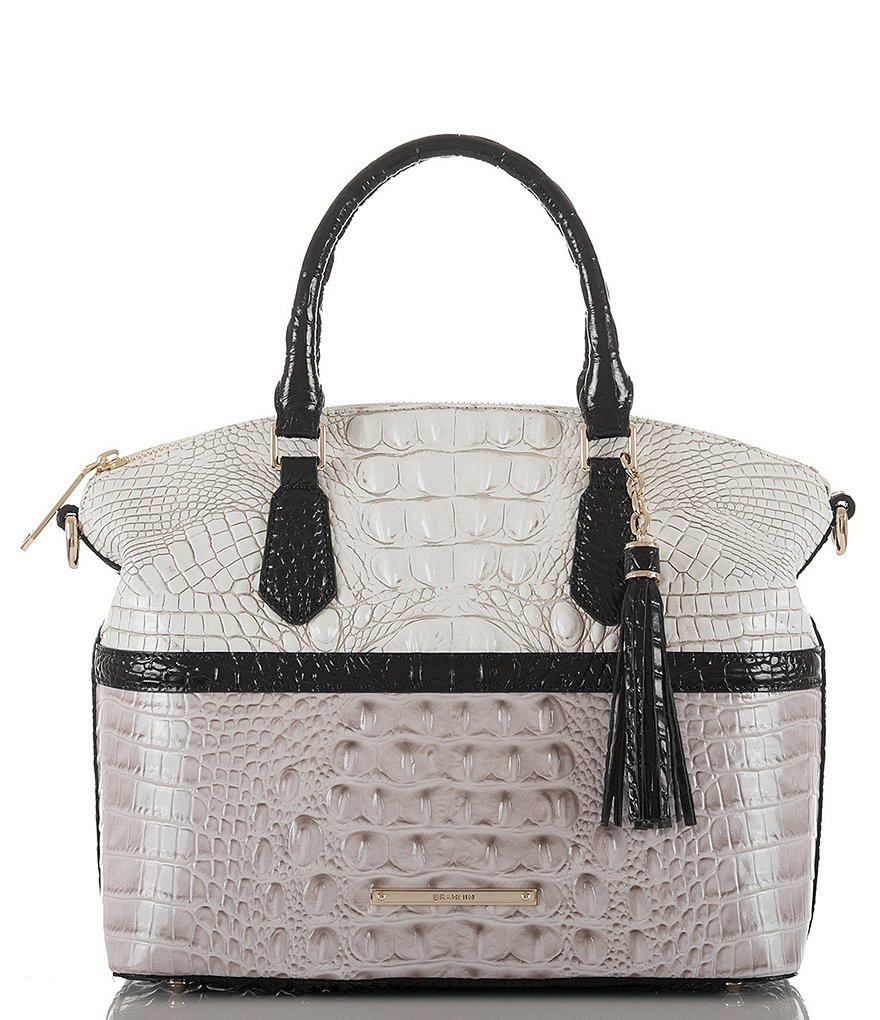 Brahmin Jasmine Collection Duxbury Satchel