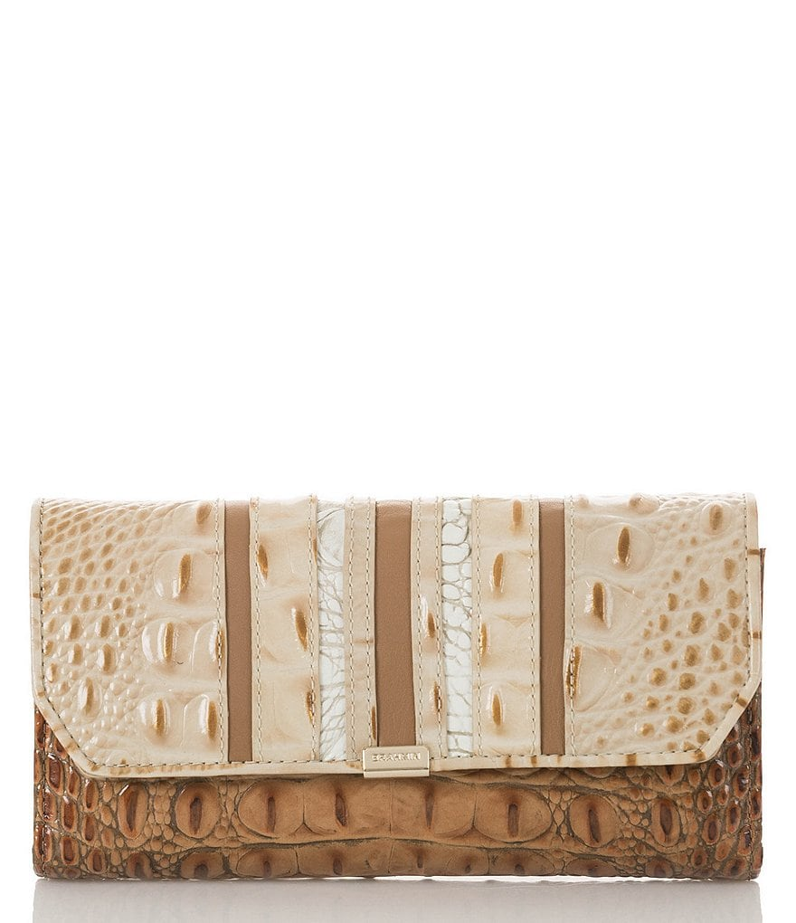 Brahmin Koubba Collection Soft Checkbook Wallet