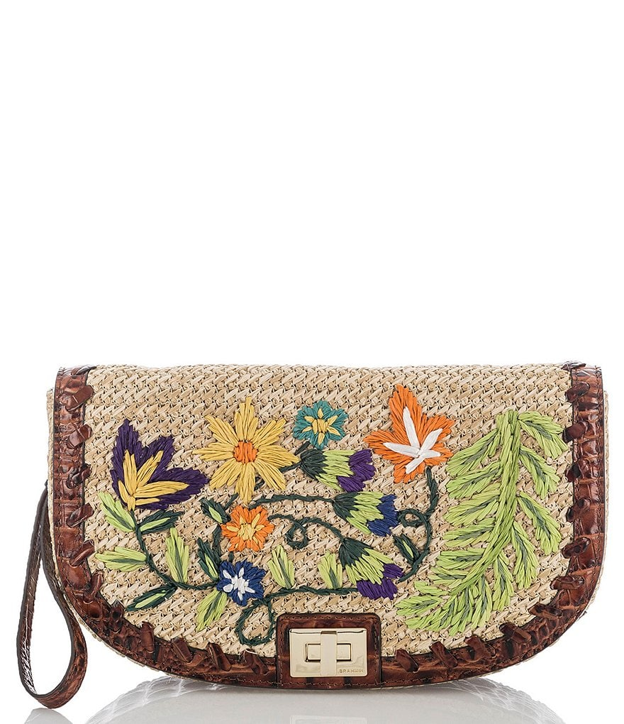 Brahmin Le Jardin Collection Sandrine Clutch