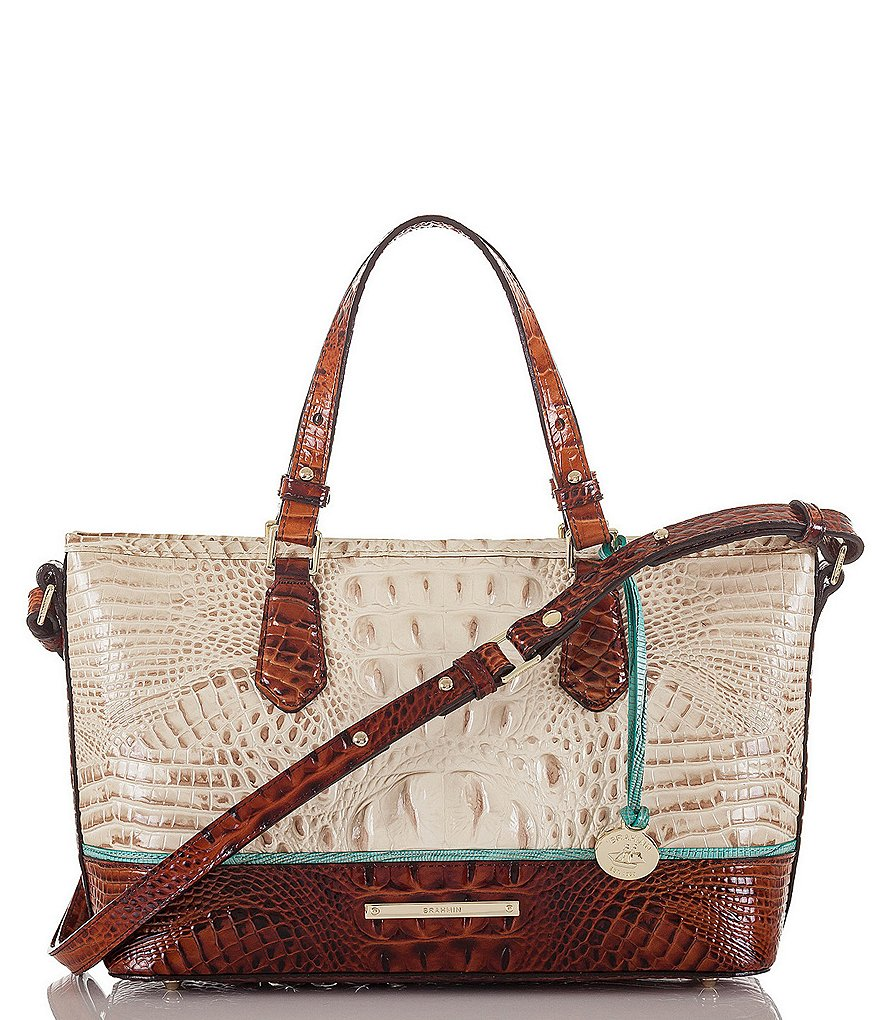 Brahmin Macaw Collection Mini Asher Tote