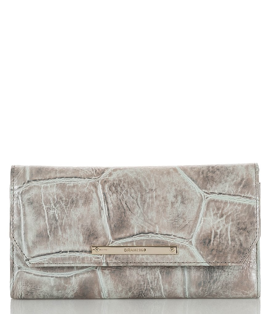 Brahmin Majorelle Collection Soft Checkbook Wallet